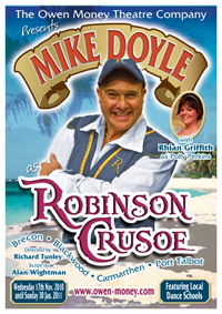 Click for details of Robinson Crusoe 2010/11